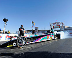 Steve Williams travels across the United States competing in NHRA divisional and national events