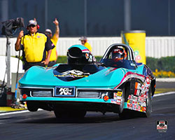 Steve Williams, K&N's Chief Engineering Officer, pilots two cars in the NHRA Sportsman classes