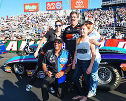 Steve Williams has earned four NHRA Division 7 championship titles