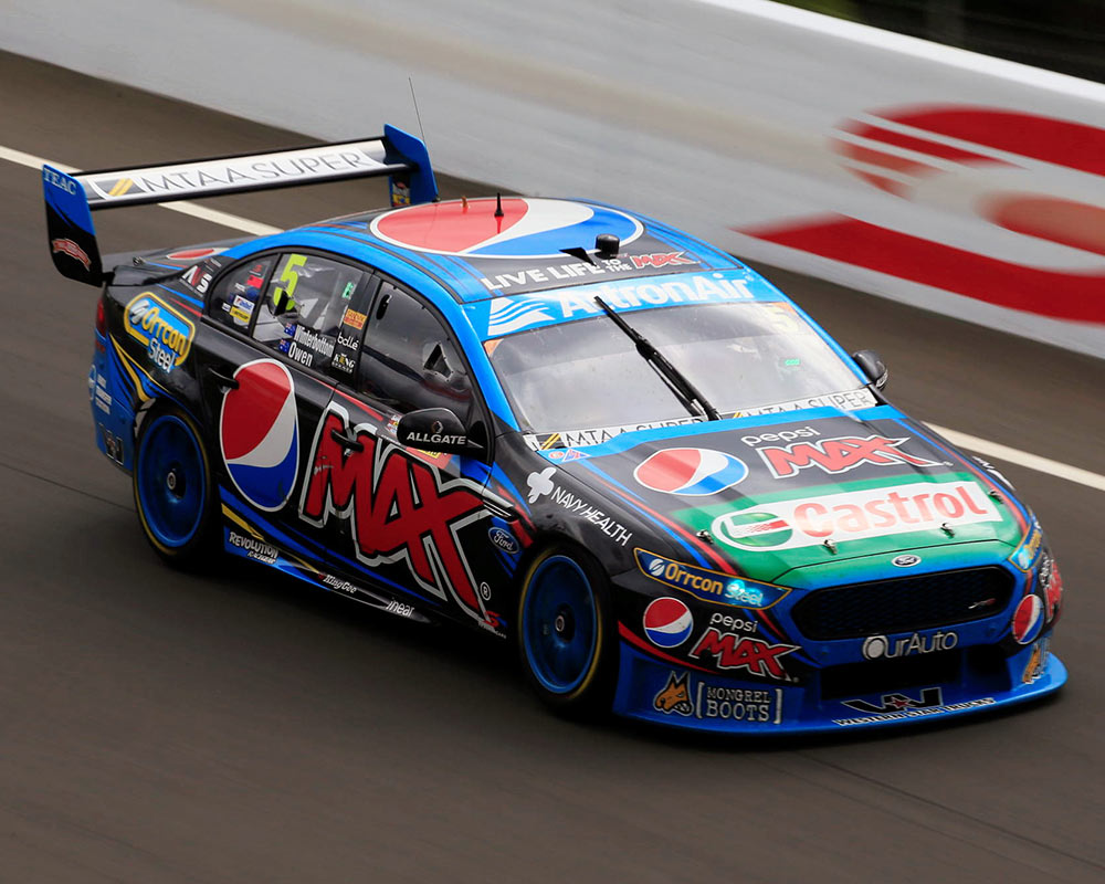 Mark Frosty Winterbottom Claims First International Supercars