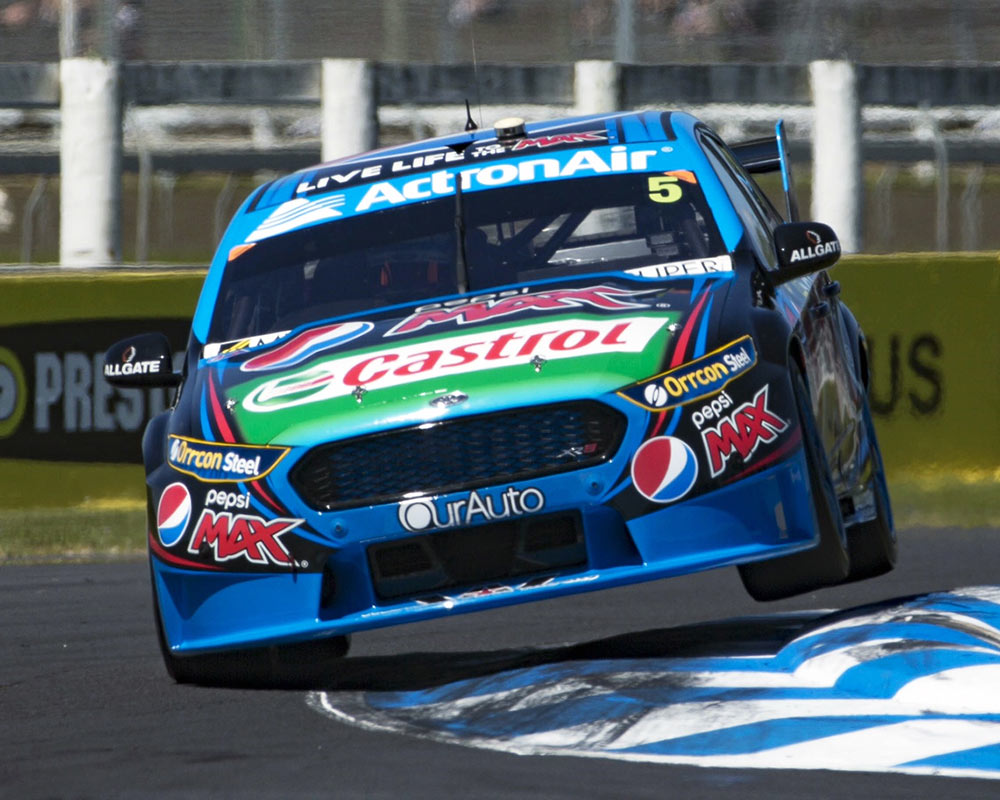 Mark Frosty Winterbottom Claims First International V8 Supercars