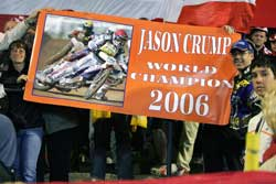Jason Crump wins after 8 rounds with 170 points, Photo by Mike Patrick