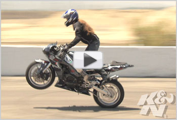XDL Series Owner Randy Grube and XDL Stunt Bike Riders Brandy Valdez and Alicia Speck Video