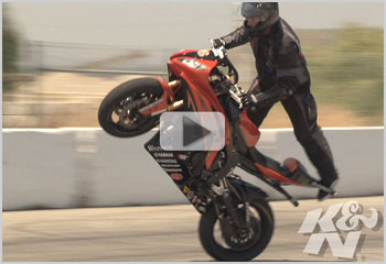 Round 4 of the XDL Championship Stunt Series with Stunt Bike Rider Joe Dryden Video