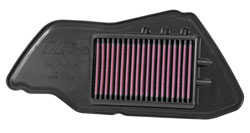 The YA-1209 replacement air filter is an easy-to-install performance upgrade for a 2009, 2010, 2011, 2012, 2013, 2014 2015 Yamaha YW125 Zuma 125 scooter