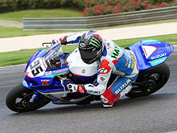 In race one Roger Hayden took second place aboard his K&N performance filters equipped Yoshimura Suzuki GSX-R1000