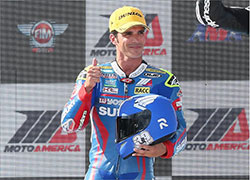 K&N-sponsored superbike racer Toni Elias