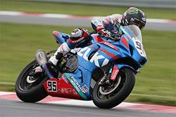 K&N-sponsored superbike racer Roger Hayden