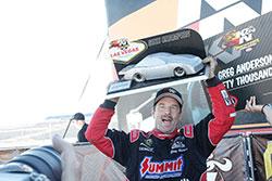 Greg Anderson winner of 2016 Horsepower Challenge
