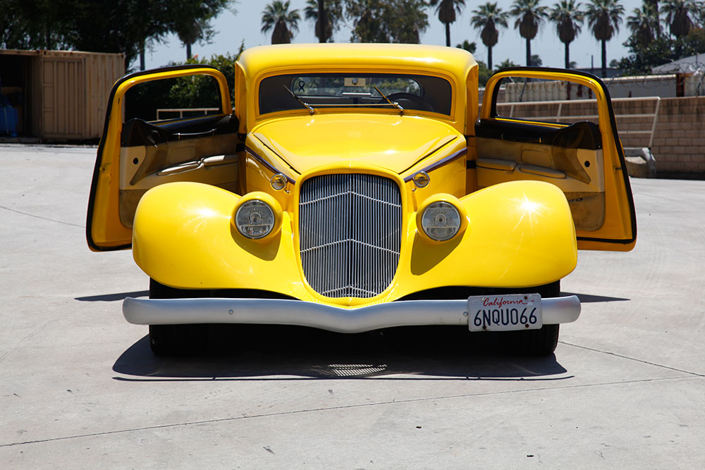 1995 Lincoln Town Car Cartier Transformed Into A 1934 Ford By Ruben