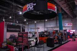 K&N's AAPEX Booth