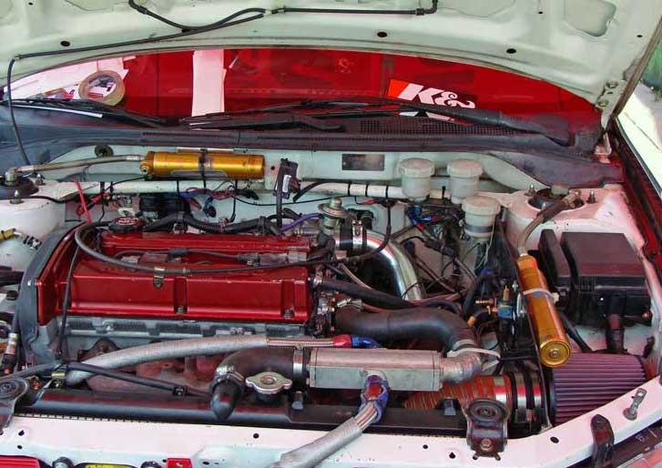 Rallye Defi Near Montreal Canada Grueling For Mitsubishi Lancer