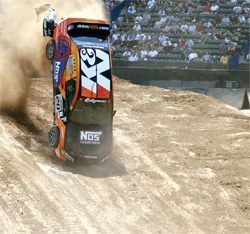 Rally car and X Games Racer Andrew Comrie Picard will also be at the K&N booth at SEMA in Las Vegas, Nevada