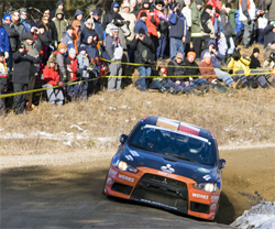 The next Canadian Rally Championship Series is the Pacific Forest Rally in Merritt, British Columbia, October 2-3