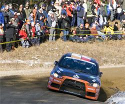 Mitsubishi Lancer Evo X will compete in 2009 Rally America Campaign