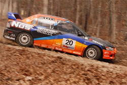 Team ACPs Mitsubishi is equipped with K&N products