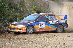 Racing for the Rally America Title begins  at Portland International Raceway before heading to Mount Hood in Oregon