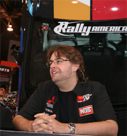 Rally Driver Andrew Comrie-Picard will next compete at the 2009 X-Games in Los Angeles, California