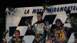 The 2011 Speedway season is clearly the best year the younger racer has had, with his second place finish at Miramont de Guyenne, Ellis now holds a commanding points lead in the championship (Ellis on right).