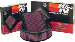 K&N's Washable and Reusable Air Filters