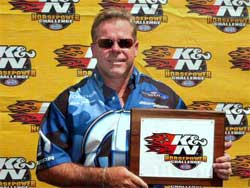 Allen Johnson earns $3000 in K&N Horsepower Challenge Program