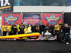 4th annual Dollar General NHRA Four-Wide Nationals win for Al Kenny