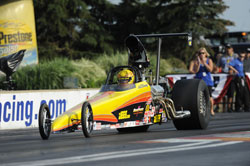 Alan Kenny recently drove his a Super Comp dragster to a 2012 NHRA Championship