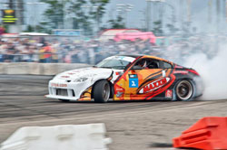 Grinchuk was the 2009 and 2010 Ukrainian Drift King Champion and his sights are set on making it three-in-a-row for 2011.
