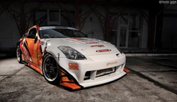The stock 2006 Nissan 350Z Grinchuk first started racing four years ago is still very much a title contender.