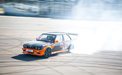 Alex's BMW is built for drifting and is easier to drive - Photo by Ross Ianson and Alok Paleri (lokkydesigns.com)