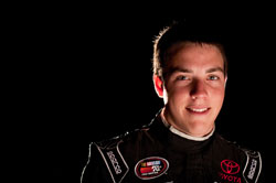 18-year-old Alex Bowman is leading the K&N Pro Series East rookie standings