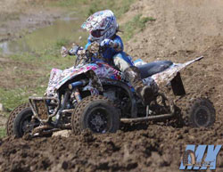 In her sixth year of racing, Alexandra Juteau recently earned her first championshipion the Women's Pro class of the CMRC ATV MX Series.