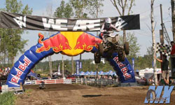 Alexandra Juteau reently had the 2010-2011 MX Provincial Women'sPro Championship wrappedup during the next to last event of the season.
