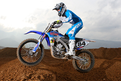 Allen Brown and Team N-Fab/TiLUBE/Yamaha in the Monster Energy AMA Supercross series
