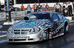 Allen Johnson and the Mopar Dodge Avenger