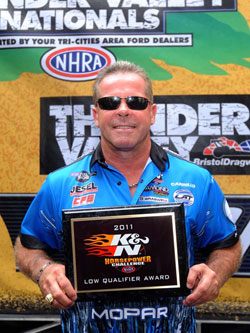 K&N Horsepower Challenge Champion Allen Johnson
