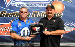 Allen Johnson takes number one qualifying spot for the NHRA Thunder Valley Nationals
