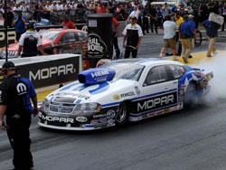 2012 Mopar Mile-High Nationals Pro Stock winner Allen Johnson.
