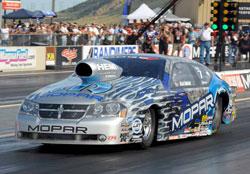 Allen Johnson and the Team Mopar Dodge Avenger.