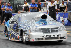 NHRA Pro Stock Racer Allen Johnson