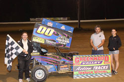 Riker Racing also earned their first ever feature win at Hamlin Speedway.