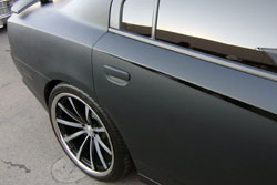 Divine One Customs' SEMA Dodge Charger was equipped with Vossen wheels