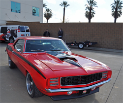 Project American Heroes 1969 Camaro will be auctioned in April