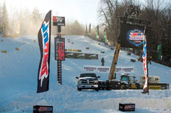 "K&N's Johnny Jump expressed his enthusiasm regarding the Snocross connection saying, ""We're pumped to be involved with AMSOIL Championship Snocross for the 2013-2014 race season."""