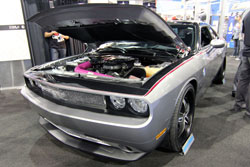 Quegan's nearly 6 months of dedication resulted this SEMA Dodge Challenger