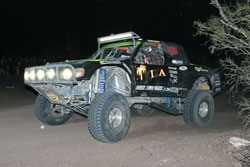 The ProBaja championship series consists of seven races, a mix of desert and short course - last year Tomba won six of those races and finished third once.