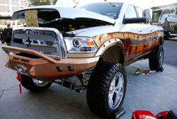 SEMA Featured 2012 Ram 2500 Truck