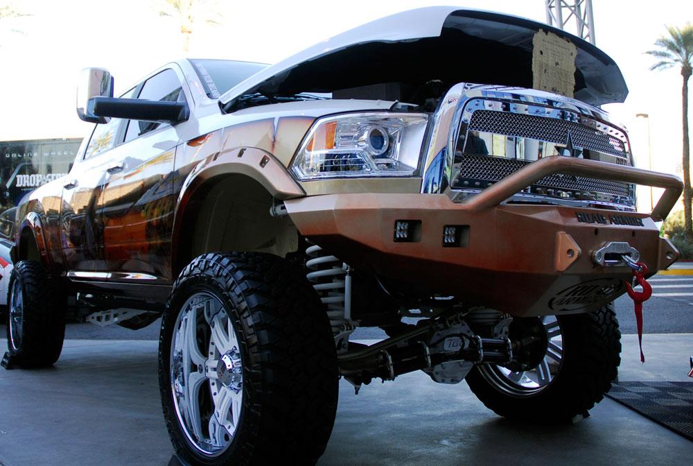 Andrew Lowe Brought Custom Ram  X Truck To Sema