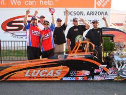 Andrew Mardrid wins NHRA Lucas Oil Drag Racing Series, Pacific Division, at Southwestern International Raceway in Tucson, Arizona