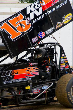 In 2010 Andrews' race schedule will consist of 50 races